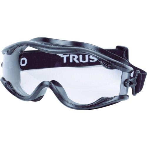 TRUSCO セーフティゴーグル(ワイドビュータイプ )フレーム黒_