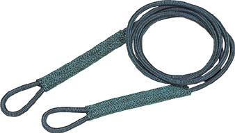 TRUSCO セフティパワーロープ シンブルなし 6mmX1m_