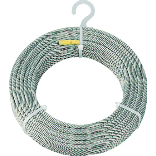 TRUSCO ステンレスワイヤロープ Φ5.0mmX10m_