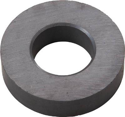 TRUSCO フェライト磁石 外径80mmX厚み10mm 5個入り_