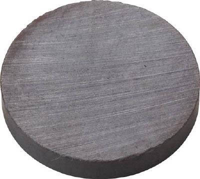 TRUSCO フェライト磁石 外径25mmX厚み4mm (1個=1PK)_
