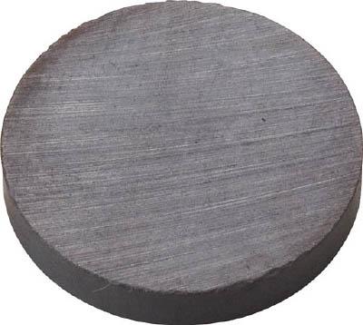 TRUSCO フェライト磁石 外径50mmX厚み10mm (1個=1PK)_