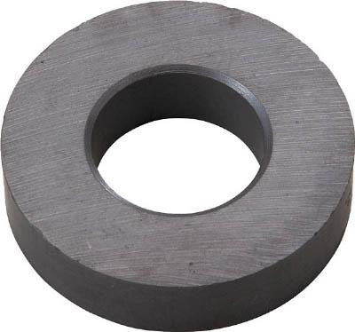 TRUSCO フェライト磁石 外径45mmX厚み10.5mm (1個=1PK)_