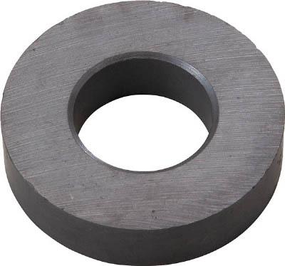 TRUSCO フェライト磁石 外径60mmX厚み7mm (1個=1PK)_