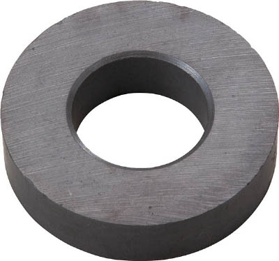 TRUSCO フェライト磁石 外径80mmX厚み10mm (1個=1PK)_