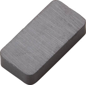 TRUSCO フェライト磁石 25mmX19mmX4.5mm (1個=1PK)_