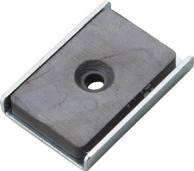 TRUSCO キャップ付フェライト磁石25.5mmX23.5mmX6.5mm_