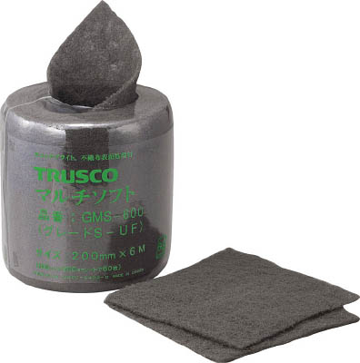TRUSCO マルチソフト #600相当 200mmX6m_