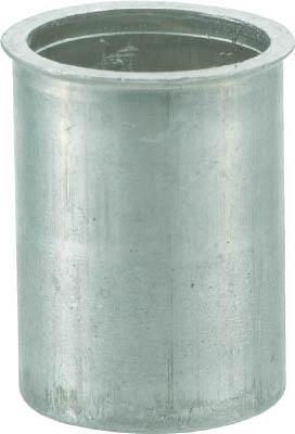TRUSCO クリンプナット薄頭アルミ 板厚2.5 M4X0.7  1000個入_