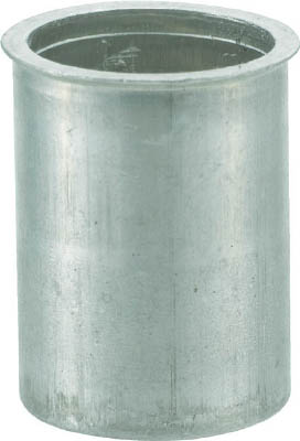 TRUSCO クリンプナット薄頭アルミ 板厚3.5 M4X0.7  1000個入_