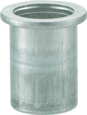 TRUSCO クリンプナット平頭アルミ 板厚2.5 M4X0.7  1000個入_