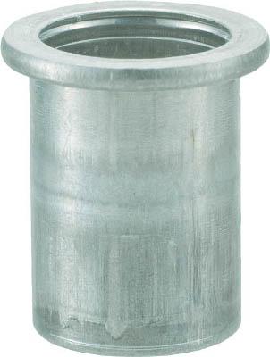 TRUSCO クリンプナット平頭アルミ 板厚1.5 M5X0.8  1000個入_