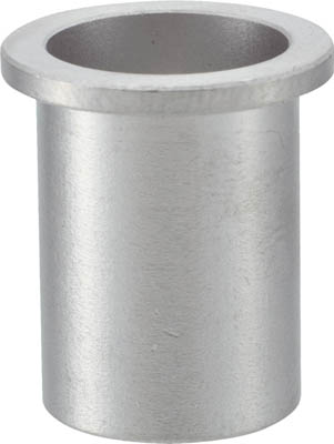 TRUSCO クリンプナット平頭ステンレス 板厚2.5 M6X1.0 100個入_