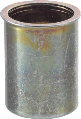 TRUSCO クリンプナット薄頭スチール 板厚2.5 M4X0.7 (37個入)_