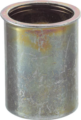 TRUSCO クリンプナット薄頭スチール 板厚2.5 M6X1.0 1000個入_