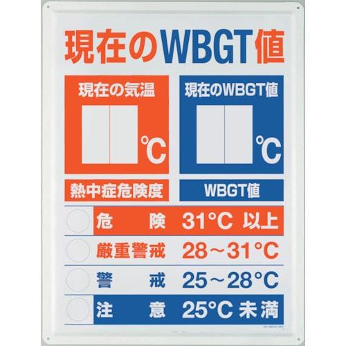 ユニット WBGT値表示板_