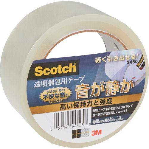 3M スコッチ 透明梱包用テープ 48mmX49m_