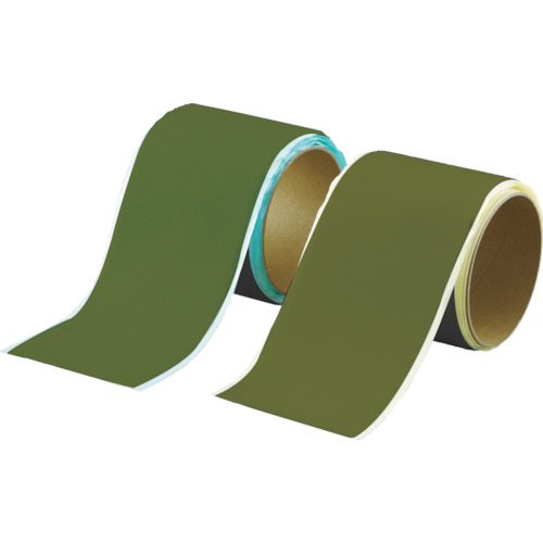 TRUSCO マジックテープセット 裏面粘着 幅50mmX長さ1m OD(1巻=1セット)_