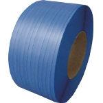 積水 梱包機用PPバンド J-S1タイプ1巻梱包 15.5×2500m ブルー_