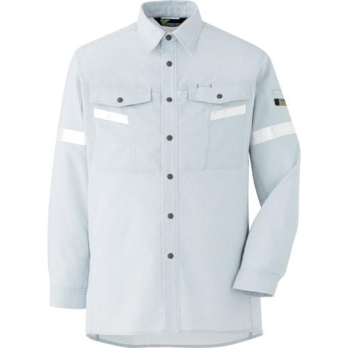 ミドリ安全 ベルデクセル帯電防止 反射材仕様 長袖シャツ VES2551上 LL_