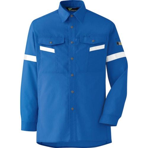 ミドリ安全 ベルデクセル帯電防止 反射材仕様 長袖シャツ VES2553上 S_