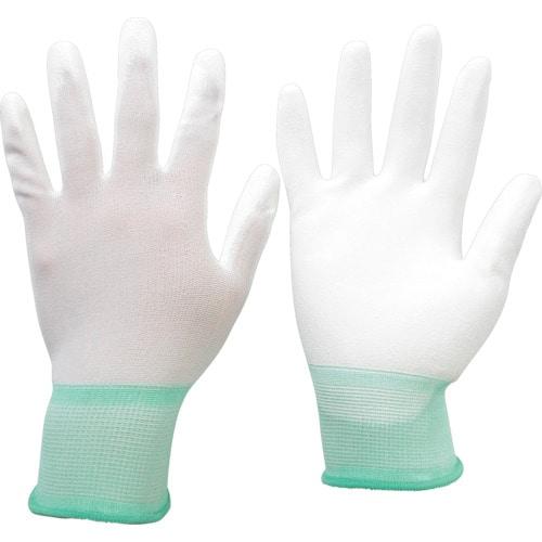 ミドリ安全 品質管理用手袋(手のひらコート) 10双入 Mサイズ_