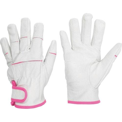 ミドリ安全 女性用革手袋 MT-550 Sサイズ_