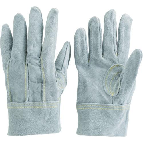 TRUSCO オイル加工革手袋 スタンダードタイプ Mサイズ_
