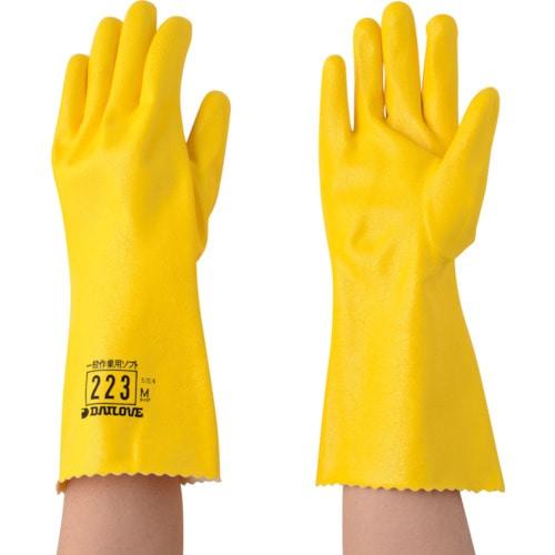 DAILOVE 耐溶剤用手袋 ダイローブ223(M)_