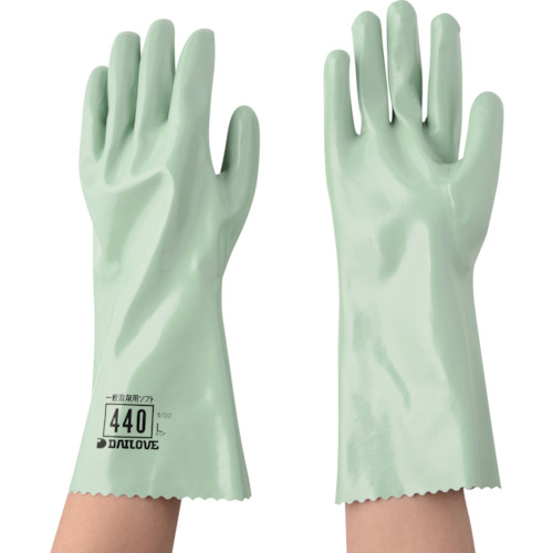 DAILOVE 耐溶剤用手袋 ダイローブ440(L)_