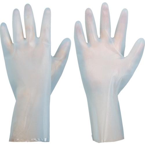 TRUSCO 耐溶剤薄手手袋 L_