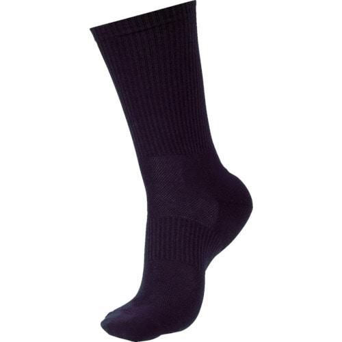 ミドリ安全 安全靴用靴下 強フィットソックス ブラック_