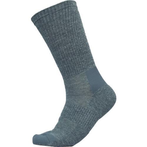 ミドリ安全 安全靴用靴下 強フィットソックス グレイ_