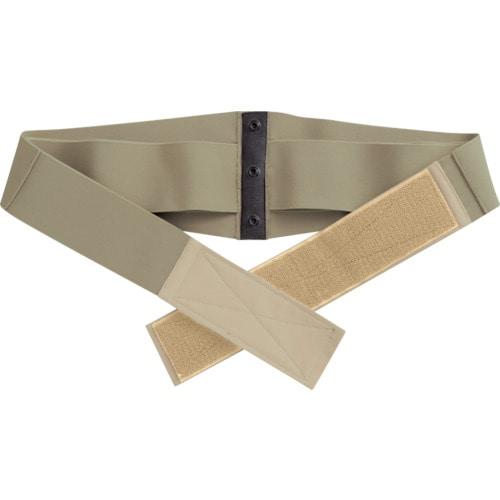 ミドリ安全 楽腰パンツ 腰部保護ベルト単体 VE502B カーキ 4L_