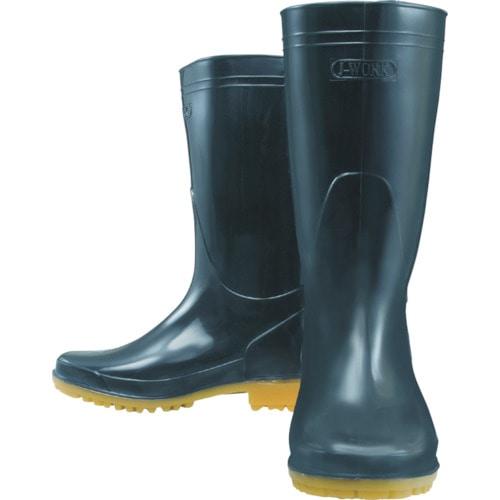 おたふく 耐油長靴 黒 24.5_