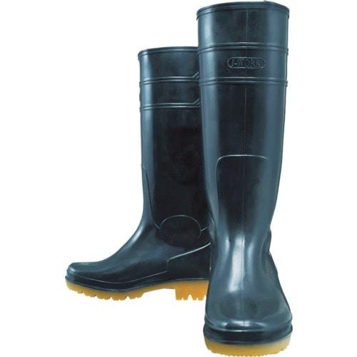 おたふく 耐油長靴ロングタイプ 黒 25.5_