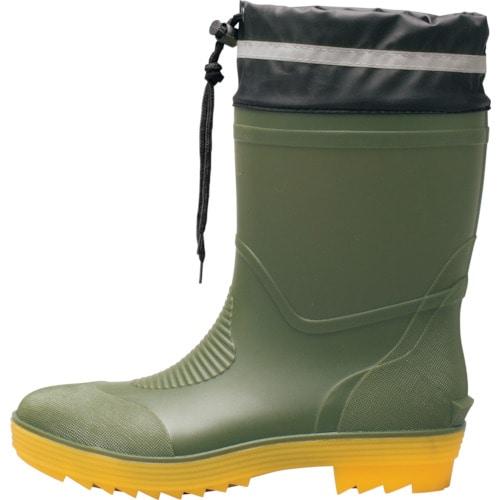 ジーベック ショート丈安全長靴85763-64-3L_