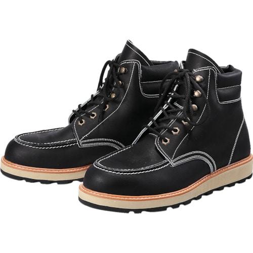 青木安全靴 US-200BK 24.5cm_