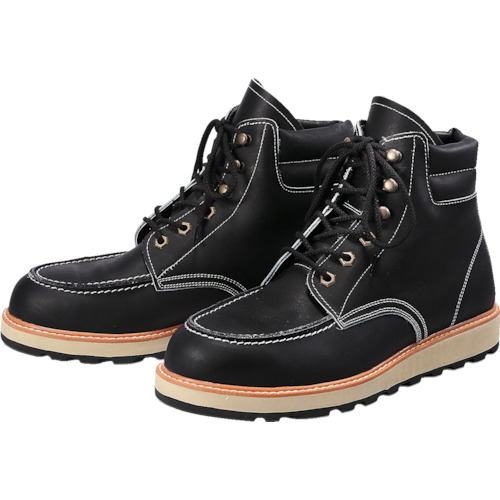青木安全靴 US-200BK 25.0cm_
