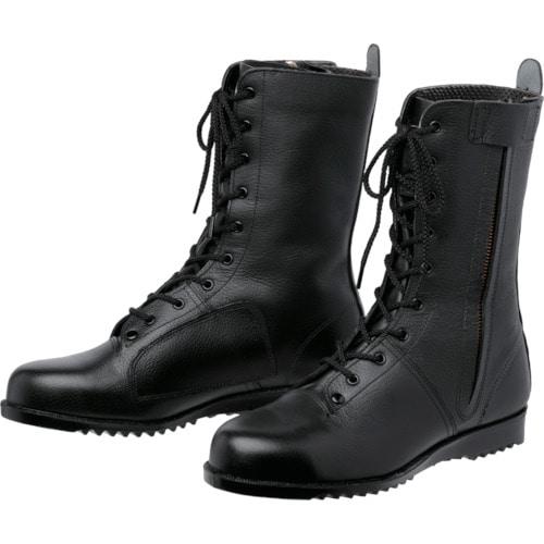 ミドリ安全 高所作業用作業靴 VS5311NオールハトメF 25cm_