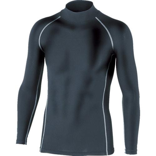 おたふく BTパワーストレッチハイネックシャツ ブラック S_