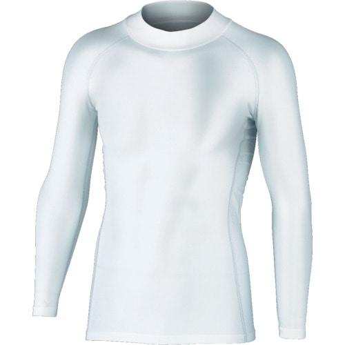 おたふく BTパワーストレッチハイネックシャツ ホワイト S_