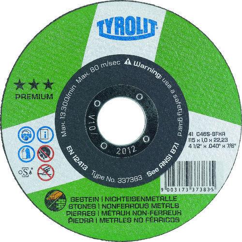 TYROLIT 切断研削砥石 石材用 125mm #30_