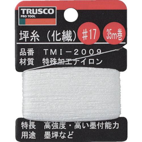 TRUSCO 坪糸(化繊) #17 35m巻_