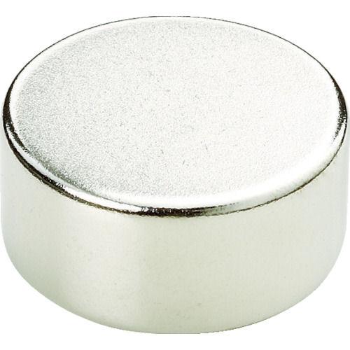 TRUSCO ネオジム磁石 丸形 外径15mmX厚み1.5mm 5個入り_
