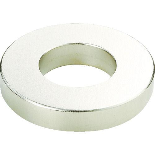 TRUSCO ネオジム磁石 外径39mmX穴径19mmX厚7mm(1個=1PK)_
