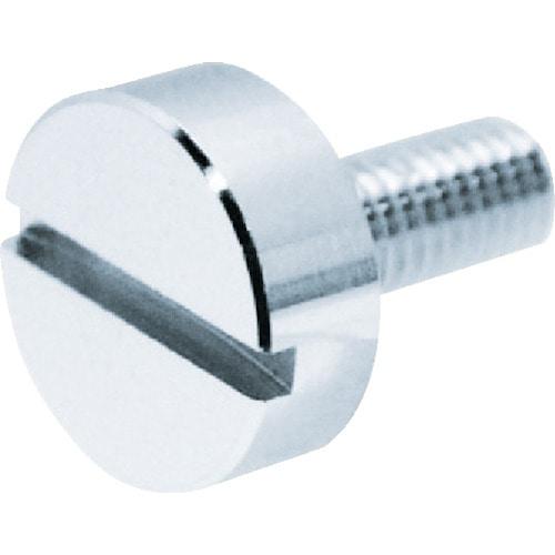 TRUSCO 装飾平小ねじ すり割りコイン M6 ファイ10 L20 1個入_