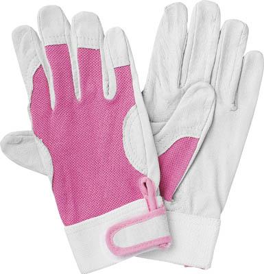 TRUSCO マジック式革手袋 Sサイズ_