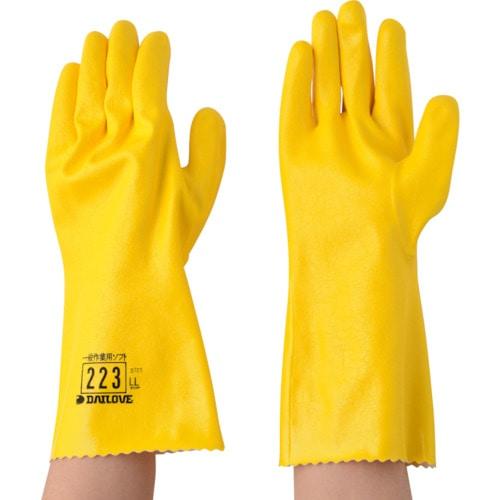DAILOVE 耐溶剤用手袋 ダイローブ223(LL)_