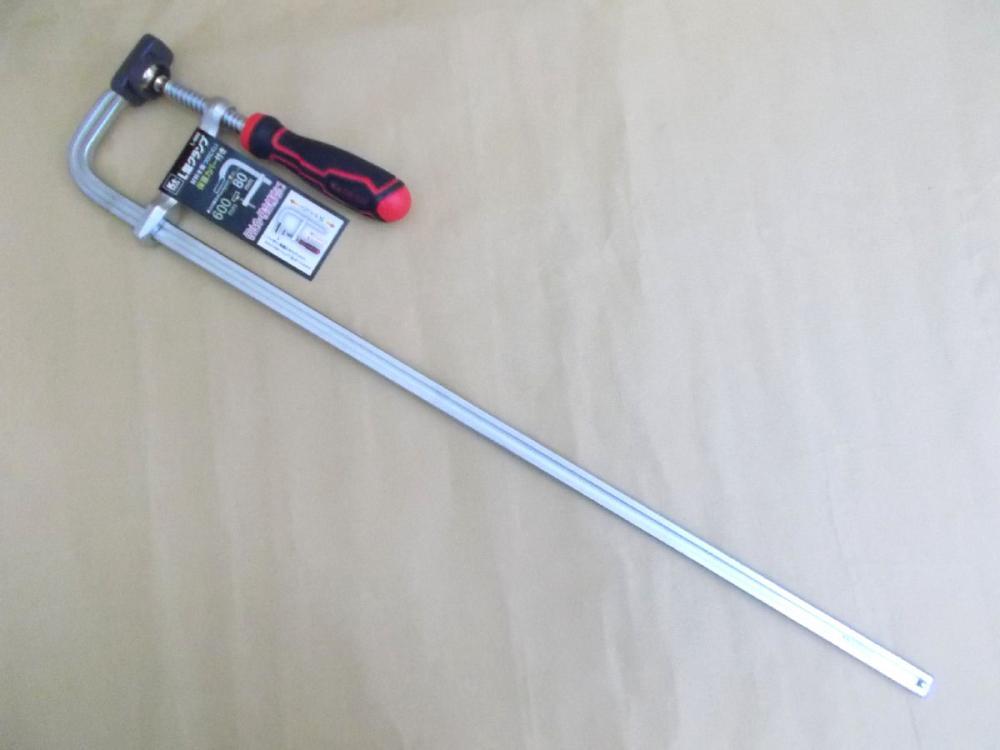 K+L型クランプ  80×600mm